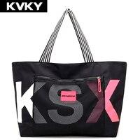 KVKY Brand Women Handbags Ladies Messenger Bags Nylon Travel Casual Tote Shoulder Bag Large Capacity Waterproof