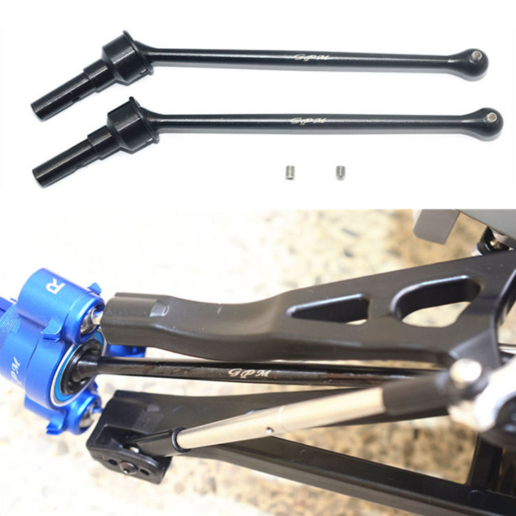 45# Carbon Steel Front Rear Drive Shaft Antriebswelle für RC Traxxas Slash 4X4