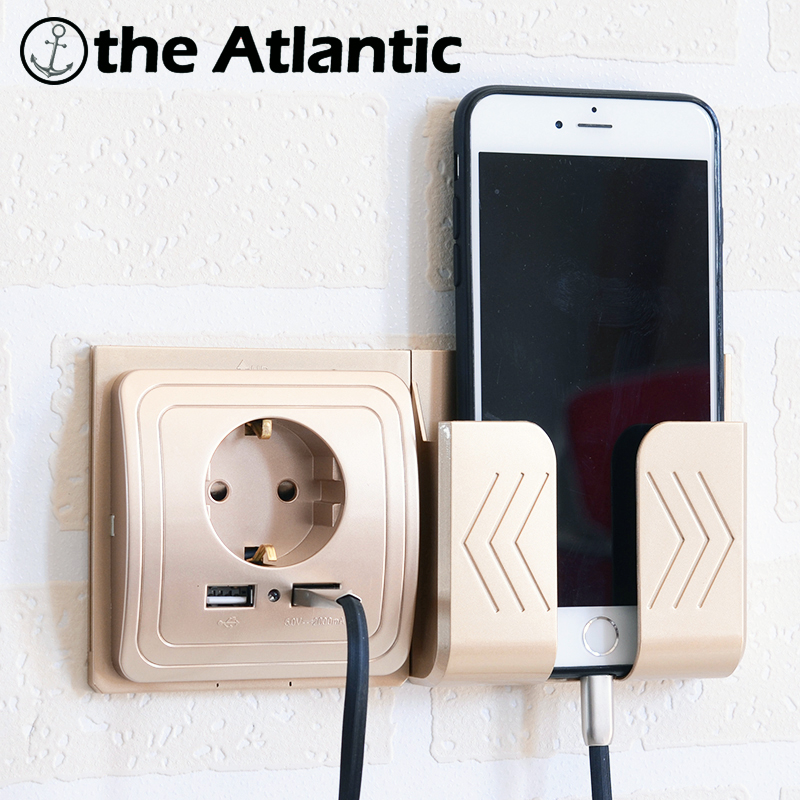 Dual USB Socket Power Outlet Socket With EU Plug 2A Wall Charger Adapter Electric Wall Charger Adapter Charging USB