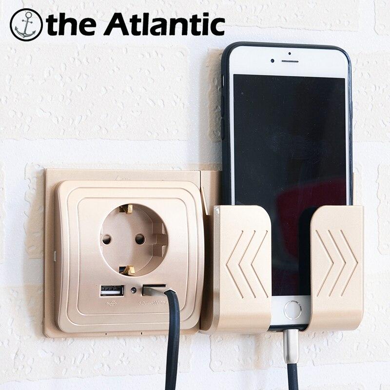 Dual USB Socket Power <font><b>Outlet</b></font> Socket With EU Plug 2A Wall <font><b>Charger</b></font> Adapter Electric Wall <font><b>Charger</b></font> Adapter Charging USB