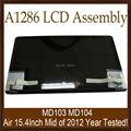 """Funcionando Bien Original de Nueva 15.4 """"Pantalla LCD Ensamblaje de la Pantalla Completa Para MacBook Pro 15"""" A1286 MD103 MD104 Mediados De 2012 Años Probado"""
