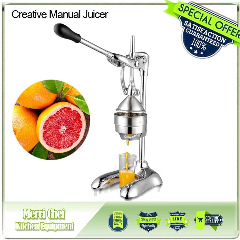 2017 New Arrival Manual Juicer lemon exprimidor citrus squeezer fruit vegetable tools Zinc alloy Material Hand Press Juicer healthy mini manual juicer with good price