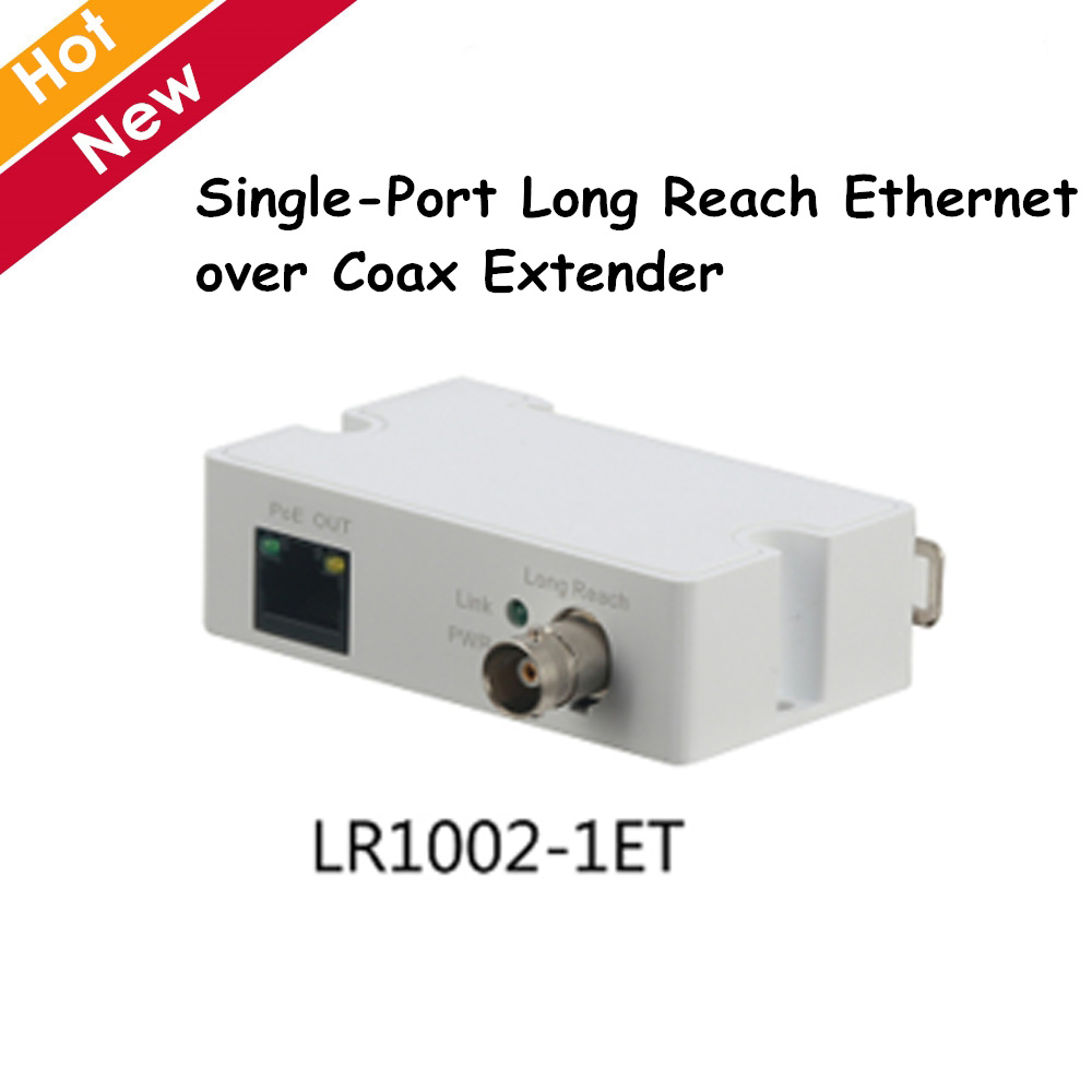 цена DH Single-Port Long Reach Ethernet over Coax Extender LR1002-1ET 1 RJ45 10/100Mbps 1 BNC ip accessory