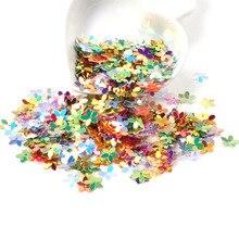 20 г (около 650 шт.) стереоскопический цветок блестки многоцветный пайетками Вышивание Craft детей DIY аксессуары для одежды украшения 10 мм
