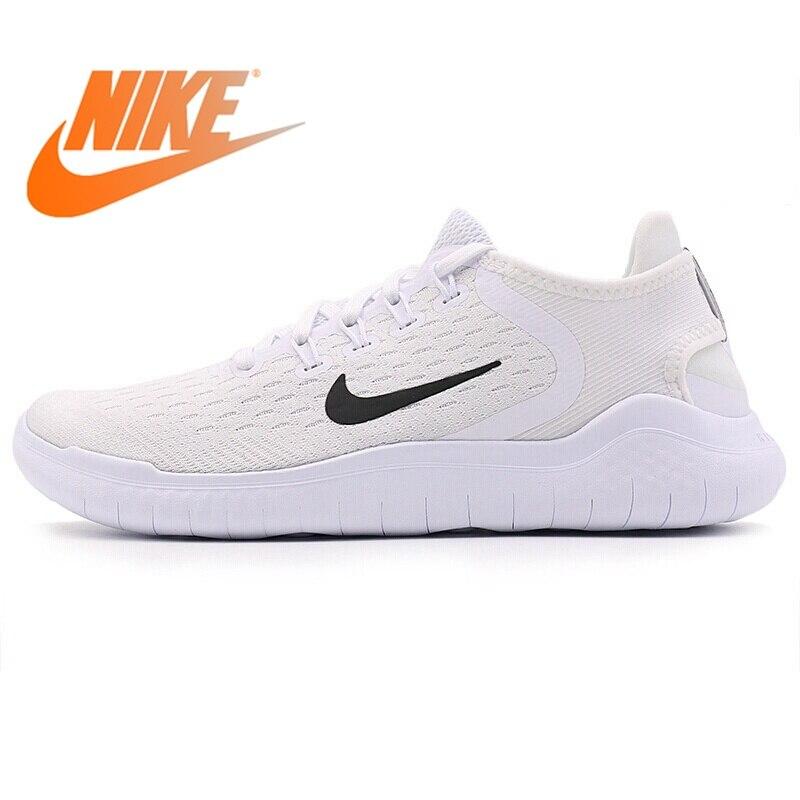 Original nouveau 2018 NIKE FREE RN chaussures de course pour femmes baskets femmes respirant coupe-bas amorti résistant à l'usure chaussures de Jogging