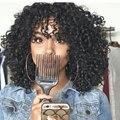 Синтетические Фигурные Парики Для Женщин Продажа Afro Kinky Кудрявый Парик Длинные черный Синтетический Парик Вьющихся Волос Жаропрочных Дешевые Парик Для Женщин