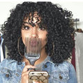 Synthetic Curly Wigs For Women Sale Afro Kinky Curly Wigs Long Black Synthetic Wig Curly Hair Heat Resistant Cheap Wig For Women