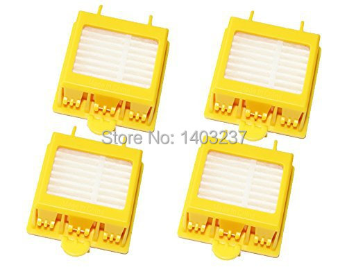 4 x Hepa Filter Replacement Vacuum Cleaner Accessory Kit for iRobot Roomba 700 Series 760 770 780 790
