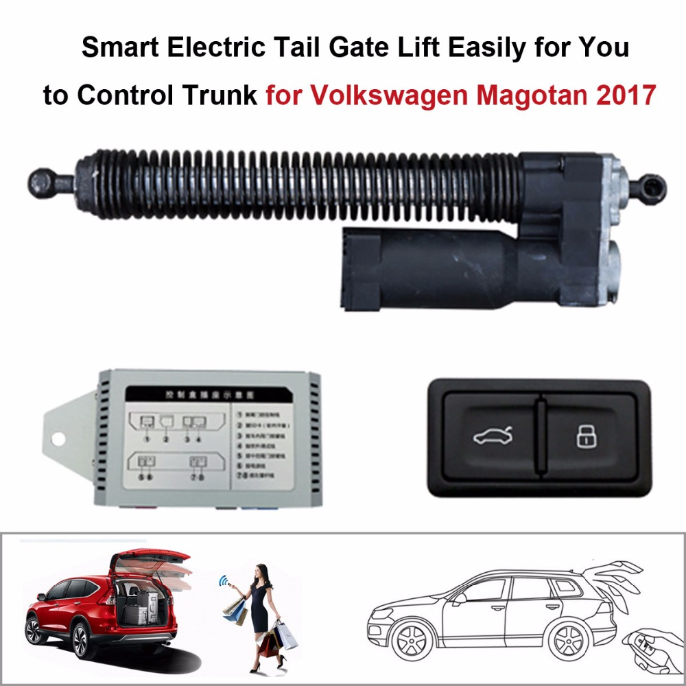 Smart Auto Electric Tail Gate Lift for Volkswagen Magotan 2017 Control Set Height Avoid  ...