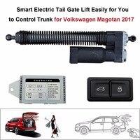 Smart Auto Электрический хвост ворота лифт для Volkswagen Magotan 2017 Управление комплект высота избежать щепотку с защелкой