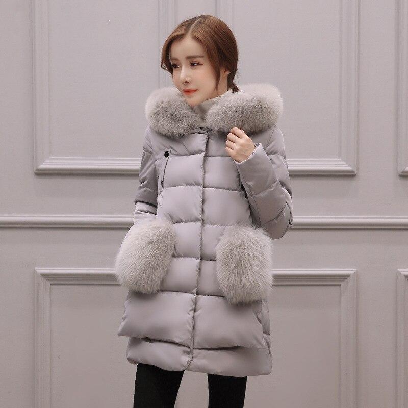 ФОТО  Womens Winter Jackets And Coats Manteau Femme Winter Jacket Women Coat Thickened Long Casaco Feminino Inverno Abrigos #001