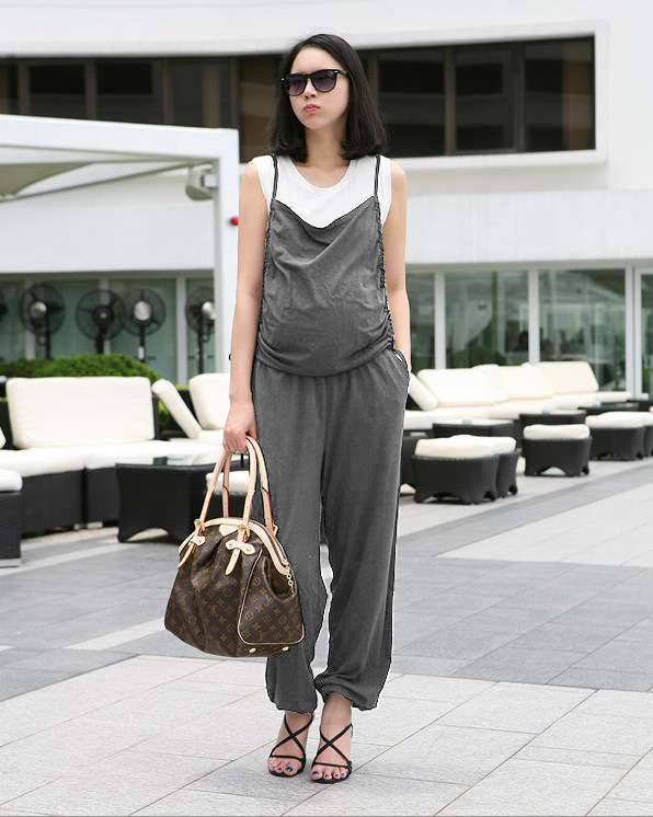 Pregnant Women Bibs Pregnant Women Suspenders Pregnant Women Onesies Fashion
