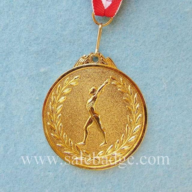 3D Personalizzato Oro Sabbiatura Ginnastica Medaglia Premio Sport Trofeo