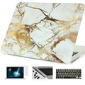 Cases For Macbook Case Marble Air Pro Retina 11 12 13 15 inch For Mac book 11.6 13.3 15.4 Hard Shell Laptop Bag