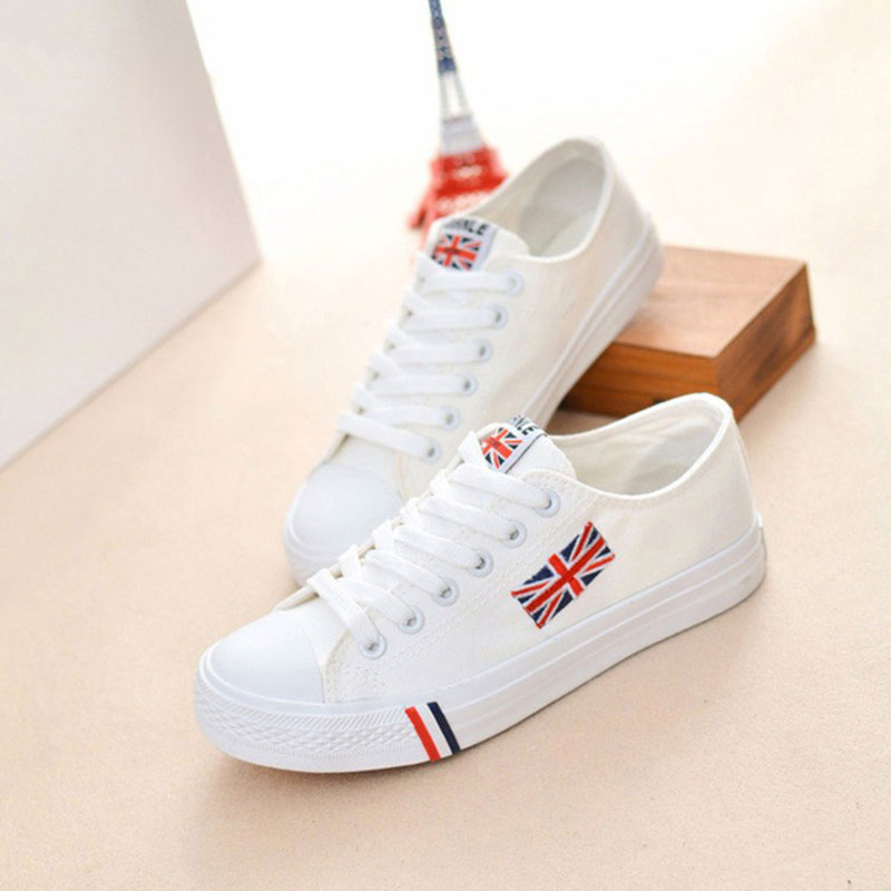 Women casual shoes 2017 canvas shoes hot new breathable shoes for woman