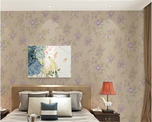 beibehang wallpaper papel de parede Self-adhesive PVC embossed thick American hudas beauty