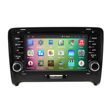 7″ Android 5.1.1 Quad Core Car Radio DVD GPS Navigation Central Multimedia for Audi TT MK2 2006 2007 2008 2009 2010 2011 2012 3G