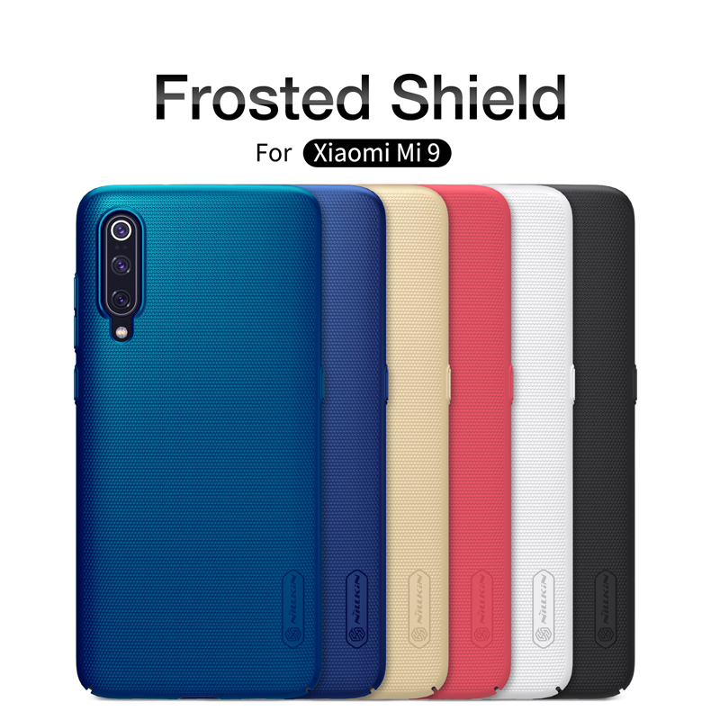 Xiaomi mi9 Case xiaomi mi 9 Explore case mi9 SE cover NILLKIN Super Frosted Shield Matte PC Hard Back Cover Case for Xiaomi mi9(China)
