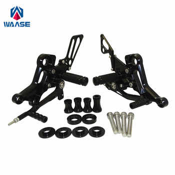 waase Adjustable Rider Rearsets Rearset Footrest Foot Rest Pegs For Ducati Monster 696 795 796 1100 EVO - DISCOUNT ITEM  22% OFF All Category