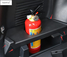 Lapetus Zubehör Fit Für Toyota RAV4 RAV 4 2014 - 2018 Feuerlöscher Tasse Halter Fall Molding Cover Kit Trim/kunststoff