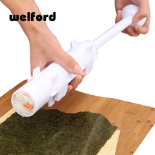welford Roller Sushi maker Roll Mold Making Kit Sushi Bazooka Rice Meat Vegetables DIY Making Kitchen