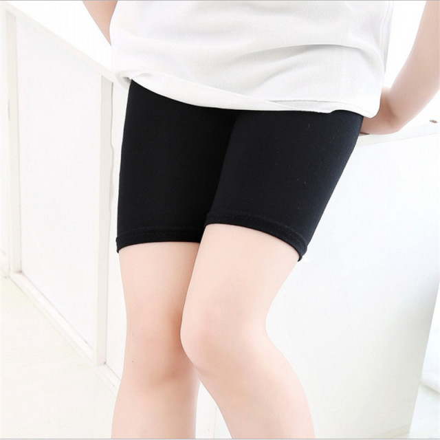 Anti-Exposure Young Girls Safety Shorts Children Safety Protection Shorts For Children 3-13 Years Old
