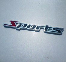 c8c75e1cdf6 Logotipo do Metal adesivos metal movimento ESPORTE ESPORTES movimento  logotipo modificação do carro de esportes