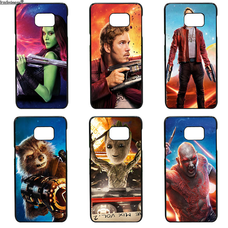 Guardians of Galaxy Marvel Rocket Fun Dynamic Phone Cases for Samsung Galaxy S8 S9 Plus S2 S3 S4 S5 Mini S7 S6 Edge Plus Active