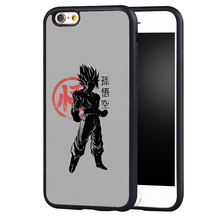 Dragon Ball Z Goku Soft TPU Phone Cases For iPhone