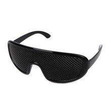 4351ef7dce08 Pinhole Glasses Exercise Eyewear Eyesight Improvement Vision Glasses  Training