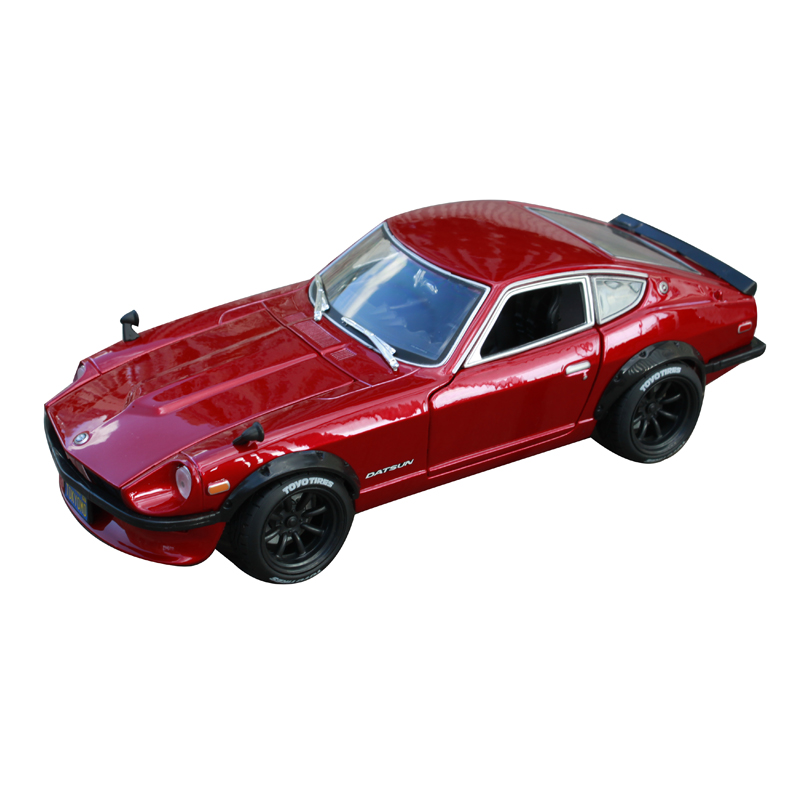 Maisto 1:18 1971 datsun 240z car diecast for nissan red car diecast 230X98X70 precious collecting car model toys for men 32611