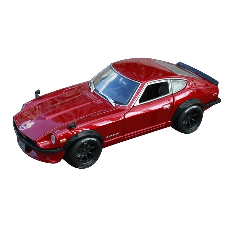 все цены на Maisto 1:18 1971 datsun 240z car diecast for nissan red car diecast 230X98X70 precious collecting car model toys for men 32611 онлайн