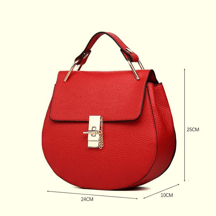 Brand Designer Chain Piggy Bags Fashion Grained Women Handbags Artificial Leather Ladies Shoulder Bags Elegant Party Lock Totes (28)