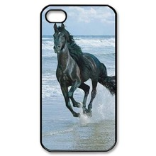 Horses Running on the Beach For iPhone 4 4S 5C 5 5S 6 6s 6 PLUS 6s plus Protective Hard Case
