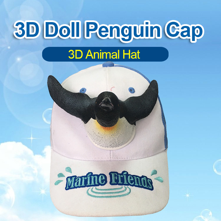 cf0f6267 2019 New Fashion 3D Cute Penguin Hat Cartoon Baseball Caps Men And Women  Christmas Gift Dad Haps White Blue Color Visor Cap. _01 _02 _03 _04 _05 _06  _07 ...