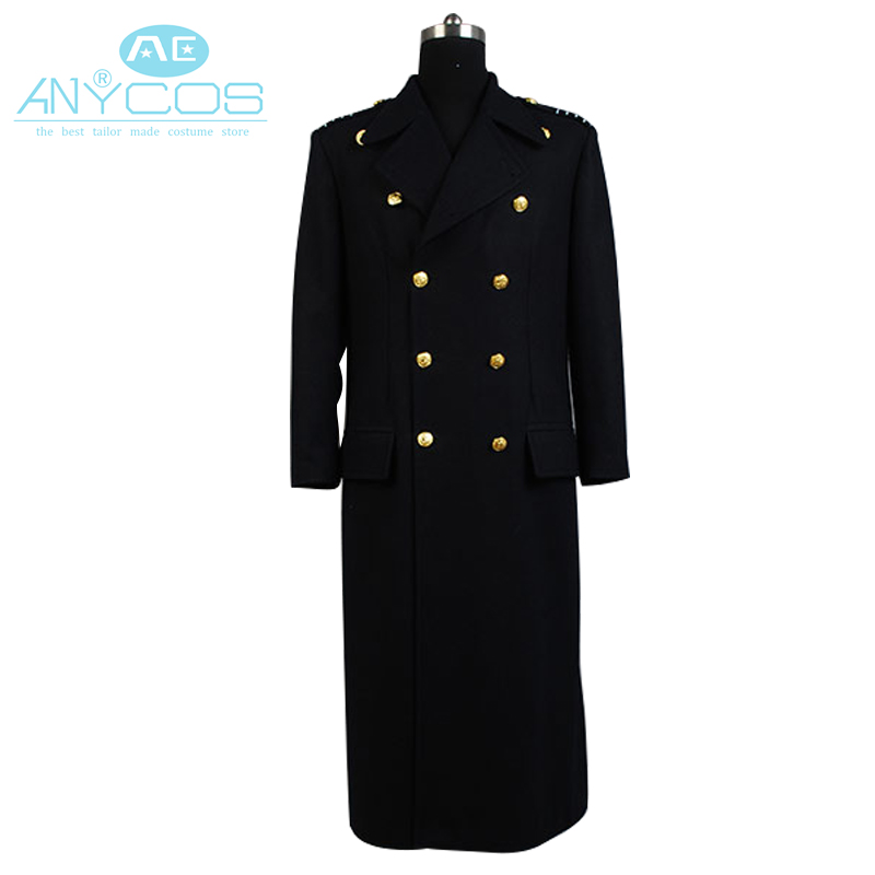 Torchwood Doctor Captain Jack Harkness Wool Trenc Cosplay Costume Autumn Winter h Coat