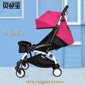 5.8kgs Trono bebé Ligero Cochecito de Bebé Plegable 175 Grados Cochecito Infantil Trolley de Viaje Plegable Bebé Cochecito de bebé Cochecito