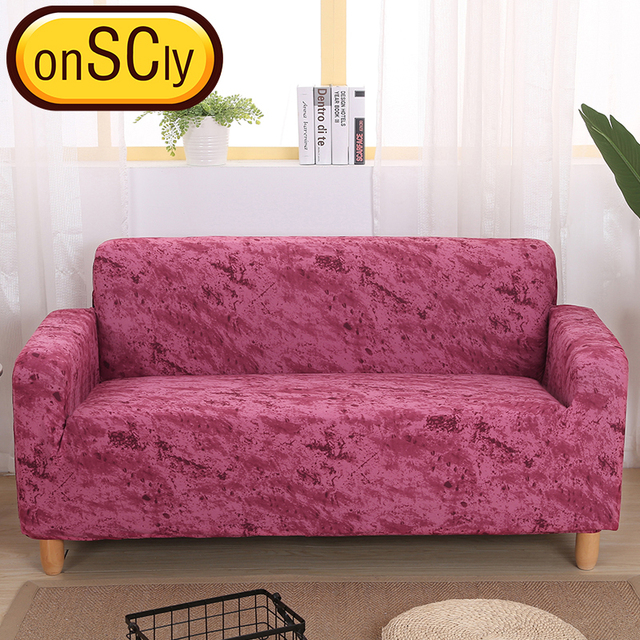 Ink Red Protector Sofa Cover Sofa Slipcover Furniture Couch Cover ...