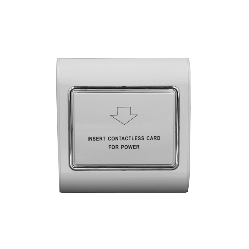 Access Control Nice Rfid 13.56mhz Mifare S50 Card Switch 180~250v 30a 15s Delay Room Number And Check In Time Limit Function Hotel Card Switch Quality First Access Control Accessories