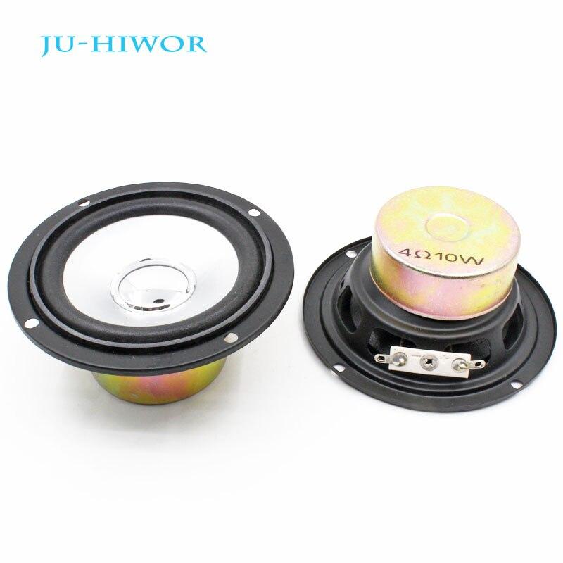 2pcs 4R 10W Loudspeaker Tweeter Full Frequency Speaker 48MM Internal Magnetic Antimagnetic Diameter 90MM Foam Edge Height 41MM