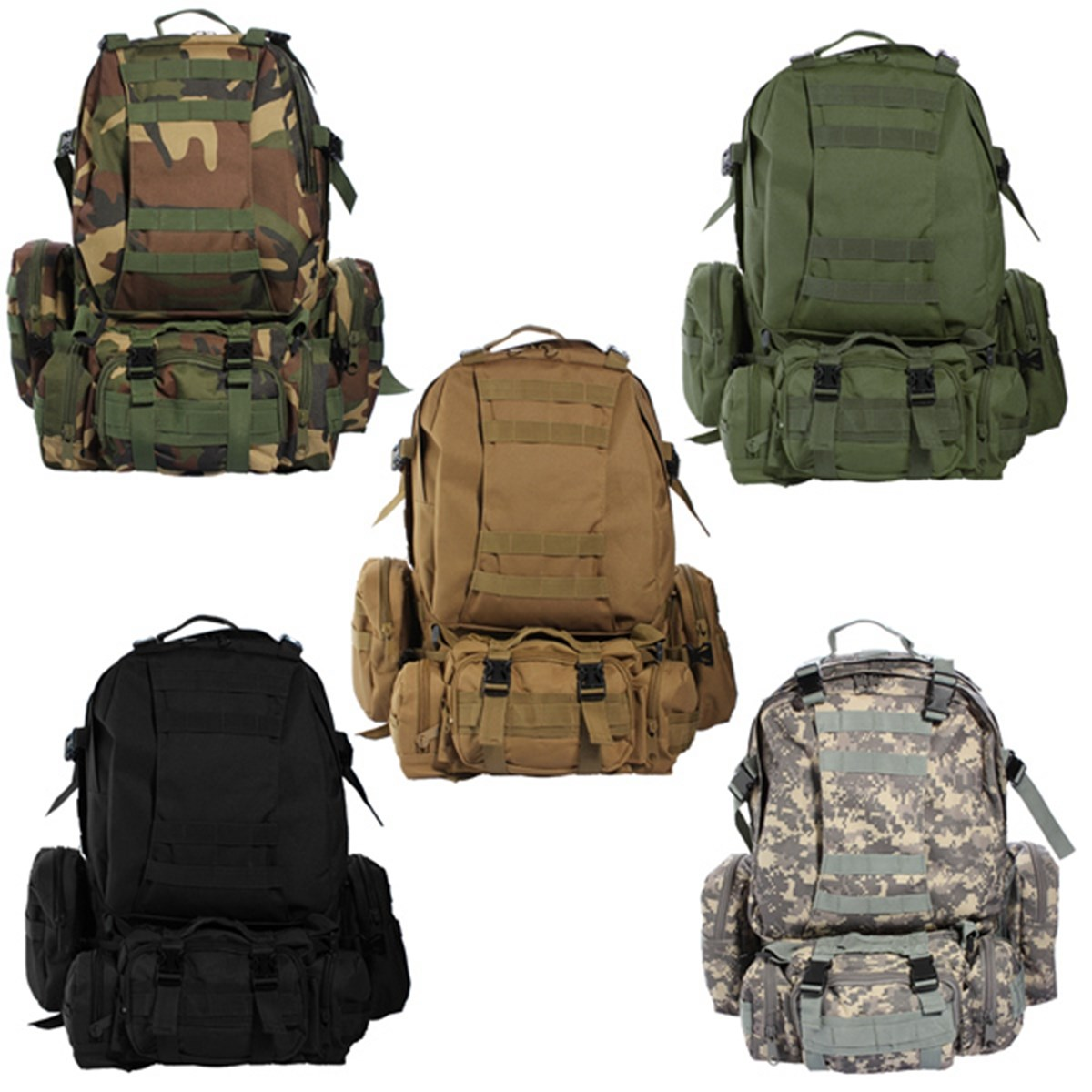 50L Military Tactical Backpack Waterproof 600D Nylon Rucksacks Outdoor Travel camping Hiking Sport Military Backpacks bags 50l tactical backpacks fly fishing outdoor camping hiking backpack 600d nylon military bags large capacity travel bag for men