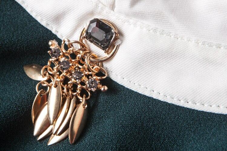 Arbeitskleidung Elegantes Bleistiftkleid OL Work Cap Sleeve Knielange - Damenbekleidung - Foto 4