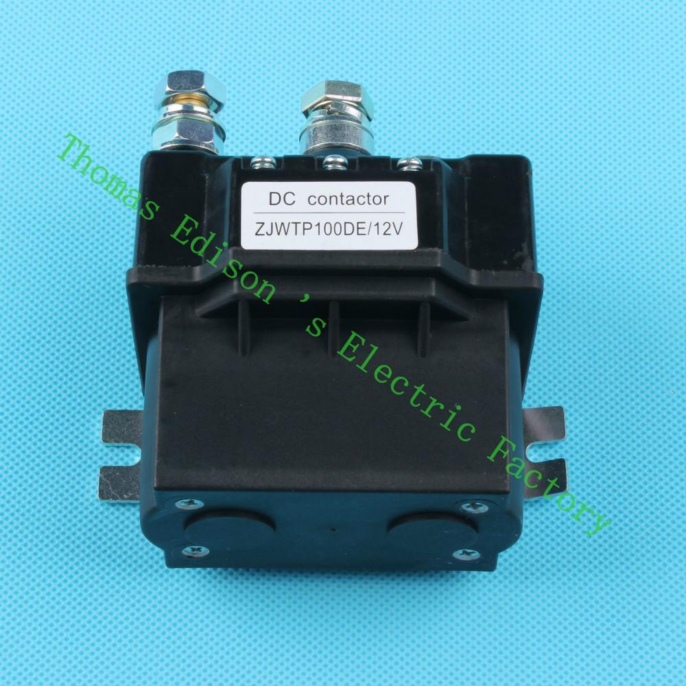 ZJWTP100DE ZJW100A SW80 contactor, dc contactor for electrical winch k400 good quality 12V 24V 36V 48V 60V 72V dc reversing contactor dc182b 537t for forklift 48v 200a zapi b4dc21