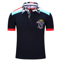 Fredd Marshall New Summer Style Men Gent Solid Polo Shirt For Man Navy White Gray Pink