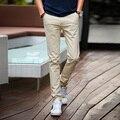 2016 new casual pants men size pants straight legged jeans slim Korean tide men