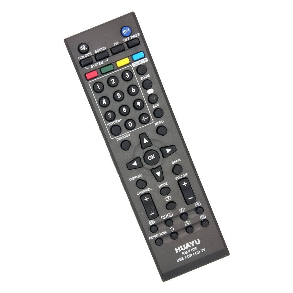 US $12 5 |RM 710R Remote Control For JVC LED TV Replace LT 32EX18 LT 42EX18  RM C565 RM C567 RM C601 RM C620 RM C637 RM C680 RM C2020-in Remote