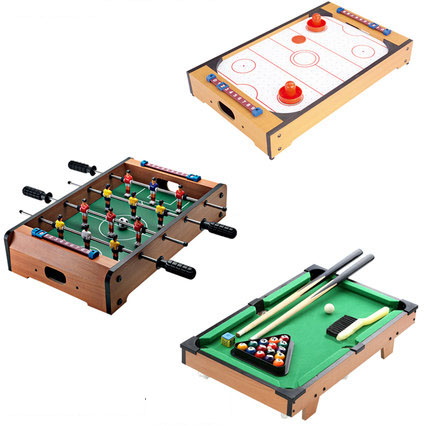Best Combo Play Toy Table Set Including Mini Air hockey Soccer ...