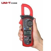 High Accuracy UNI T UT202 Digital Clamp Multimeters Ohm DMM DC AC Voltmeter AC Ammeter