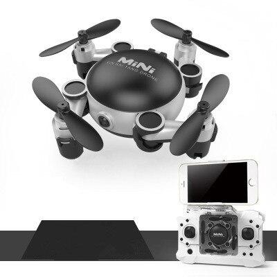Date WIFI Fpv Pliable Poche Quadcopter KY901 Téléphone Contrôle Mini Drones Wifi Transmission Rc Hélicoptère drone vs H47 CX-10W
