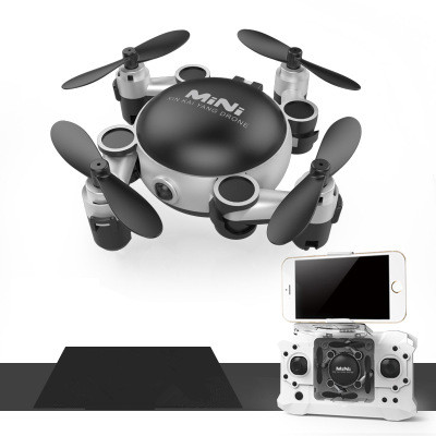Newest WIFI Fpv Foldable Pocket Quadcopter KY901 Phone Control Mini Drones Wifi Transmission Rc Helicopter drone vs H47 CX-10W